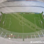 Modell vom WM 2010 Green Point Stadion