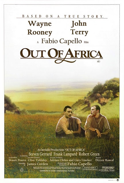 england out of africa
